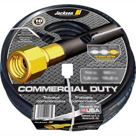 "Jackson® 4008500A Professional Tools 5/8"" X 100' Rubber Commercial Duty Garden Hose"