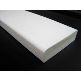"Flat Surface Bumper Guard, Self-Adhesive, Type S1, 39-3/8""L x 2-7/8""W x 13/16""H, All-White"