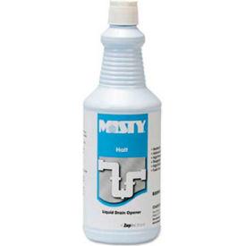 Misty® AEPR99312 Halt Liquid Drain Opener, 1 qt. Bottle - AEPR99312