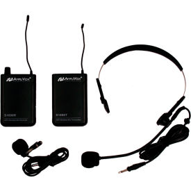 Wireless 16 Channel UHF Kit with Lapel & Headset Mic