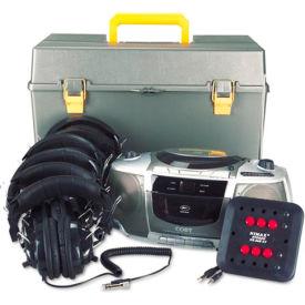 Deluxe Station Listening Center - 6 Headphone Jacks