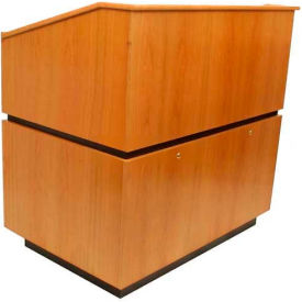 Coventry Non-Sound Podium / Lectern - Natural Oak