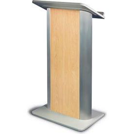 Hardrock Maple Contemporary Color Panel Podium / Lectern