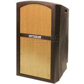 Pinnacle Full Height Podium / Lectern - Non Sound Maple