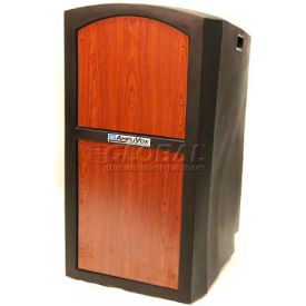 Non-Sound Pinnacle Full Height Lectern - Cherry