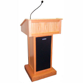 Victoria Solid Hardwood Podium / Lectern - Oak