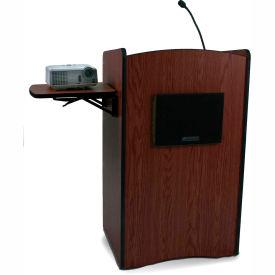 Multimedia Computer Podium / Lectern - Mahogany