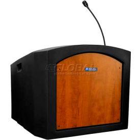Pinnacle Tabletop Lectern - Sound Ready Medium Oak