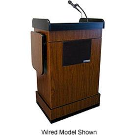 Wireless Multimedia Computer Podium / Lectern - Walnut