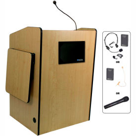 Wireless Multimedia Presentation Plus Podium - Maple