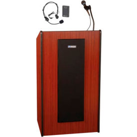Wireless Presidential Plus Sound Lectern - Mahogany
