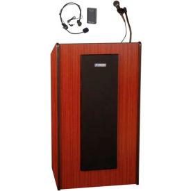 Wireless Presidential Plus Sound Podium / Lectern - Mahogany