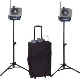 Half-Mile Hailer Kit with Wireless Powered Speakers