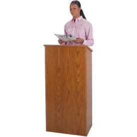 Non-Sound Full Height Podium / Lectern - Oak