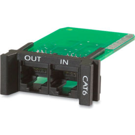 APC Surge Module-CAT6, CAT5/5e Network Line,1U, Use with PRM4 or PRM24 Chassis