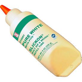 PURE WHITE™ Food Grade Anti Seize w/PTFE 475°F, 8oz. Slickon® Refill 12/Case - 31008T - Pkg Qty 12