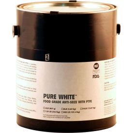 PURE WHITE™ Food Grade Anti Seize w/PTFE 475°F, 8 Lb. Pail 4/Case - 31030 - Pkg Qty 4