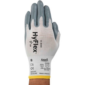 HyFlex® Foam Nitrile Coated Gloves, Ansell 11-800-11, 1-Pair