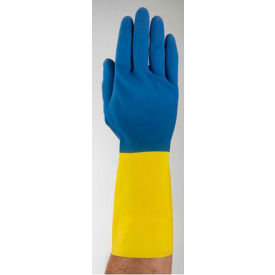 Chemi-Pro® Supported Neoprene Gloves, Ansell 87-224-7, 1-Pair - Pkg Qty 12