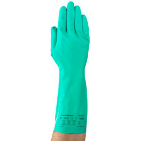 Sol-Vex®  Unsupported Nitrile Gloves, Ansell 37-175-9, 1-Pair - Pkg Qty 12
