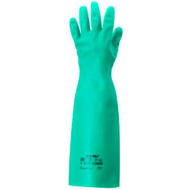 Sol-Vex®  Unsupported Nitrile Gloves, Ansell 37-185-8, 1-Pair