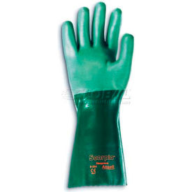 """Scorpio® Chemical Resistant Gloves, Ansell 8-354, 14""""L, Gauntlet Cuff, Size 8, 1 Pair"""