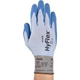 HyFlex® Seamless Polyurehtane Coated Gloves, Ansell 11-518, Size 10, 1 Pair
