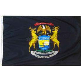 3X5 Ft. 100% Nylon Michigan State Flag