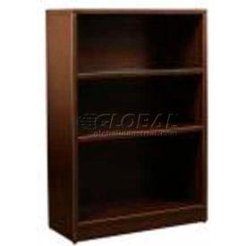 "Stellar 3-Shelf Bookcase, 32""W x 14""D x 41""H, Warm Cherry"