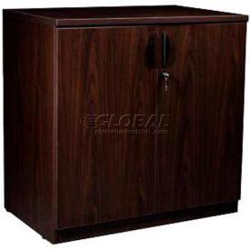 "Stellar Storage Cabinet with Finished Top, 35""W x 21-1/2""D x 30""H, Warm Cherry"
