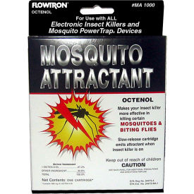 Flowtron Octenol Mosquito Attractant, 6 Pack MA1000-6 by
