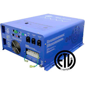 Click here to buy AIMS Power 2000 Watt Pure Sine 24 Volt Inverter Charger, PICOGLF20W24V120VR.