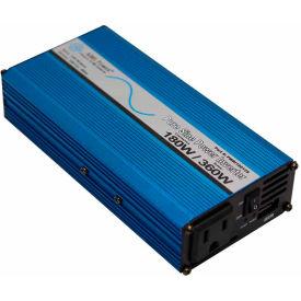 AIMS Power 180 Watt Pure Sine Power Inverter, PWRI18012S