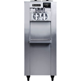 Argosy 8000i Commercial Soft Serve Ice Cream Machine, Free-Standing, Two 4 Qt. Barrel Capacity by
