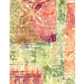 """Americo Tablecover, Artisan's Touch, 54"""" x 75', Vinyl, Athenian Patina Roll by"""