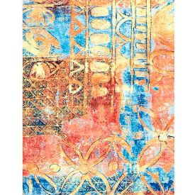 "Americo Tablecover, Artisan's Touch, 54"" x 75', Vinyl, Tuscan Sunset Roll by"