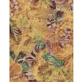 """Americo Tablecover, Classic Elegance, 54"""" x 75', Vinyl, Golden Lily Roll by"""