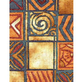 """Americo Tablecover, Be bold, 54"""" x 75', Vinyl, Cherokee Roll by"""