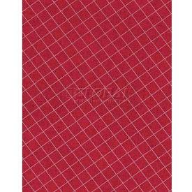 "Americo Tablecover, Crisp & Clean, 54"" x 75', Vinyl, Mandarin Red Roll by"