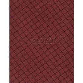 "Americo Tablecover, Crisp & Clean, 54"" x 75', Vinyl, Port Wine Roll by"