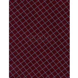 "Americo Tablecover, Crisp & Clean, 52"", Vinyl, Cabernet Round by"