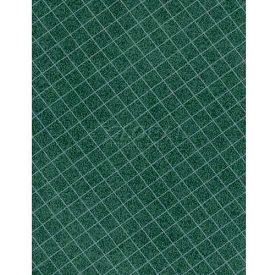 "Americo Tablecover, Crisp & Clean, 52"", Vinyl, Hunter Green Round by"