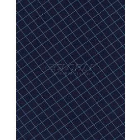 "Americo Tablecover, Crisp & Clean, 52"", Vinyl, Lapis Round by"