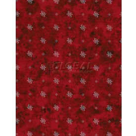 """Americo Tablecover, Always Refined, 54"""" x 75', Vinyl, Red Delicious Roll by"""