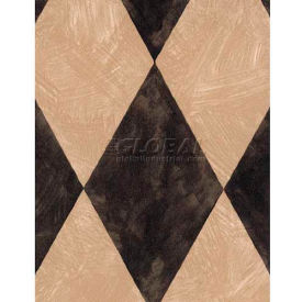 """Americo Tablecover, A Real Gem, 54"""" x 75', Vinyl, Toast Roll by"""