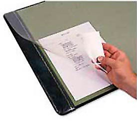 Clear Sheet Desk Pad, 19x24, Clear