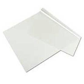Clear Sheet Desk Pad, 20 x36, Clear