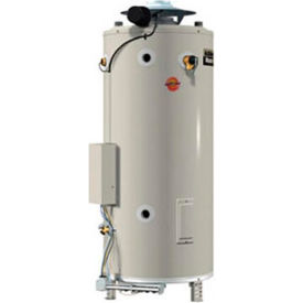 AO Smith BTR-197 Master-Fit Commercial Tank Type Water Heater Nat Gas 100 Gal. 197000 BTU