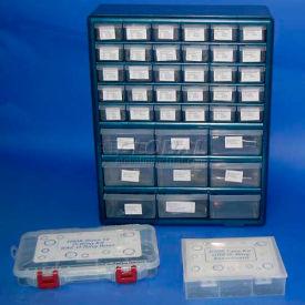 Buna 70 Duro O-Ring Metric Warehouse Kit, 1465 Pieces