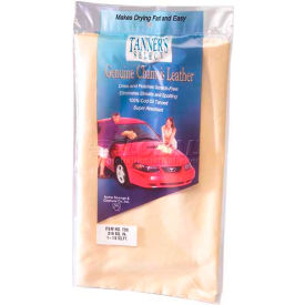 Tanner's Select Natural Chamois 1 Sq. Ft. - 6 Pack